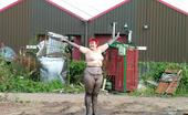 TAC Amateurs Factory Yard Lots Of Water, Lots Of Mud, Lots Of Props To Pose On 'Lots Of Fun' This Was At The Back Of A Factory Full Of People Wor