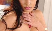 DDF Busty Aria Giovanni41 Celebrity Star Aria Giovanni Strips Nude And Touches Herself