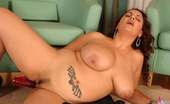 DDF Busty MellieD1 MellieD Playing With Her Large Boobs And Toying Her Pussy