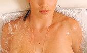 DDF Busty Jelena Jensen Busty Brunette Babe Jelena Jensen Posing Naked In Bathroom