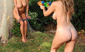 DDF Busty Carol & Jannete Playful Busty Babes Carol & Jannete Playing Naked Outdoors