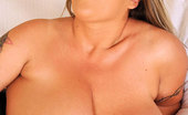 DDF Busty Laura M. Busty Tattooed Babe Laura M Toying Her Hot Pussy To Climax
