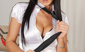 DDF Busty Roxy Taggart Black-Haired Sexy Babe Roxy Taggart Toying Her Shaved Pussy