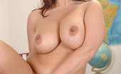 DDF Busty Sirale Sexy Sirale Shows Off Her Colossal 34F Tits In Her Office