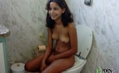 Porn Latina Pretty Latina Girlfriend Caught On Toilet Bowl