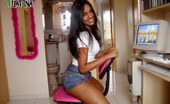 Porn Latina Latina Girlfriend Homemade Nude Photo Session