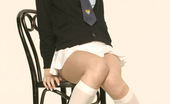 New Sensations Jeannie Marie Jeannie Marie Poseing In Her School Uniform