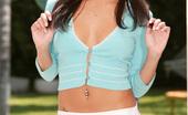 New Sensations Lela Star 323396 Smokin' Hot Latina Lela Star Outside Stripping