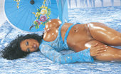 D Cup Exotica Soto Hot Exotic Looking Babe Uses Blue Dildo On Herself