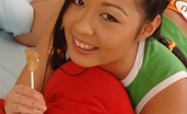 Just 18 Courtney Sweet Tiny Asian Mouth Gets Stretched Out Wide
