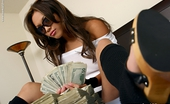 Just 18 Kyra McKinsey98 Tight And Sultry Kyra Loves Rolling Around In Money...Naked!
