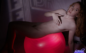 Nicki Blue Illuminated In Red! This Is A Great Virgin Photo Set Shoot A While Back, Please Download