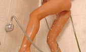 Hot Legs and Feet Lola25 Hot Blonde Teenie Lola Shaving Her Sexy Legs In The Shower