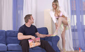 Hot Legs and Feet Jessika T.1 Slim Sexy Blonde Jessika T.'S Awesome Stylistic Striptease