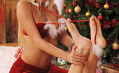 Hot Legs and Feet Adriana & Neilla 328247 Adriana & Neilla, High Heels And Foot Fingering For XMAS!