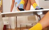 Hot Legs and Feet Little Caprice & Rihanna Samuel Sexy Little Caprice & Rihanna Samuel Having Foot Fetish Sex