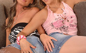 Hot Legs and Feet Blue Angel & Missy Missy & Blue Angel In Lesbian Barefoot Toe Sucking