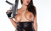 Puba Sexy Leather Slut Busty Brunette Missy Martinez Loves To Get Sexy In This Hot Leather Outfit Showing Of Her Amazing Curves