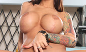 Busty Beauties Angelina Valentine & Busty Beauties Busty Brunette Angelina Valentine Play With Herself.