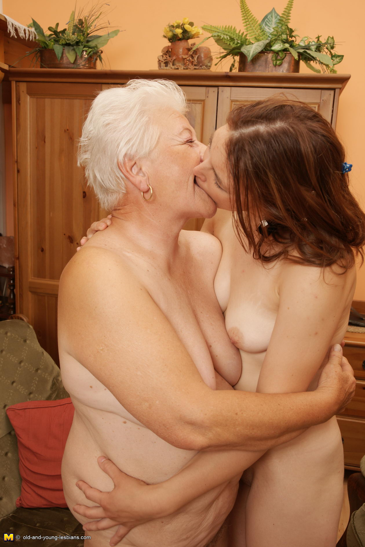 Are lesbian naked older woman pity