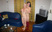 Old And Young Lesbian Smoking hot teen doing a nasty housewife