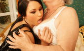Old And Young Lesbian Granny loves to play with a hot young lesbian slut
