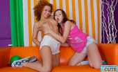 Cute Sunny Teeny Lesbians Share A Big Dildo Curious Teens Explore Lesbian Sex Licking Pussies And Sharing A Big Double-Headed Dildo