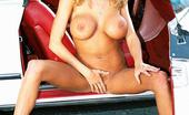 Danni.com Briana Banks Ultra Hot Beauty Briana Banks Blessed With Longest Legs And Roundest Breasts Stripping Outside