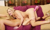 Danni.com Laurie Wallace Laurie Wallace And Monica Mayhem Share Lesbian Pussy Licking And Vibrator Plunging Fun