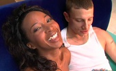 Squirting 101 Stacey Cash Hot Ebony Babe Takes Man Fingers Into Her Twat And Sucks White Cock