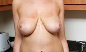 Louisa May Opps She Spilled Milk On Her Titties