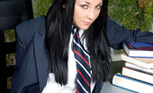 Fresh Outta High School Audrey Bitoni Audrey Bitoni Fucks With Cotton Panties On