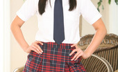 Fresh Outta High School Ashli Orion Ashli Orion Shows Whats Under Her Uniform