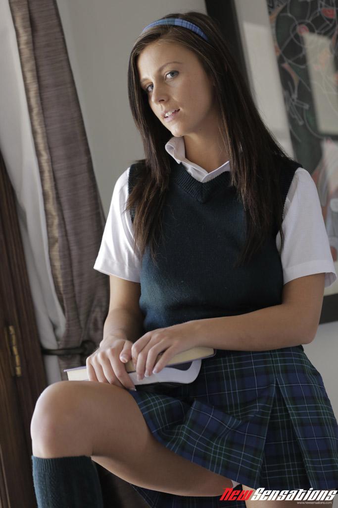 Brunette Teen Sister Pov