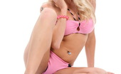 Stunners Stacy Silver Stacy Silver In Hot Pink Matching Lingerie