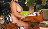 House Of Taboo Shione Cooper3 Young Schoolgirl Shione Cooper Gets Bound Naked Outdoors