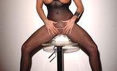 House Of Taboo Alison Hot Kinky Brunette Babe Alison Peeing In Mirror In Fishnet