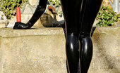 House Of Taboo Lucy Latex Mysterious Lucy Latex Is The Newest Latex Kink Super Hero!
