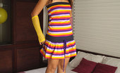 Joon Mali Lifesaver Dress Asian Tease Joon Mali Shows White Panties And Tiny Titties