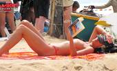 Upskirt Collection Tiny swimming suits on hot bodies