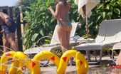 Upskirt Collection Summer heat for sexy bikini girls