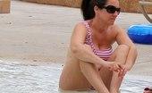Upskirt Collection Real bikini lover spies beach girls