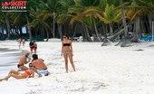 Upskirt Collection Milf bikinis spied on the beaches