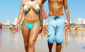 Upskirt Collection Super hot bikinis worn by busty fems