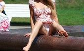 Upskirt Collection Girls pantyhose very nice upskirts