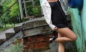 Upskirt Collection Outdoor nipple and upskirt exposure