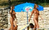 Upskirt Collection Sneak peak on nudist babes goodies