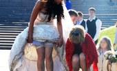 Upskirt Collection Super hot bride upskirt pictures