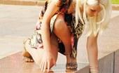Upskirt Collection Unforgettable blonde upskirt pics
