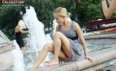 Upskirt Collection Gorgeous summer dress upskirts